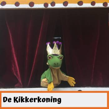 Poppentheater Ronzebons - De Kikkerkoning boeken of inhuren?