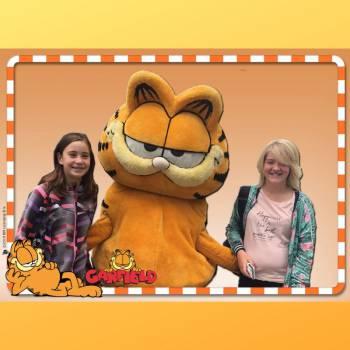 Op de foto met Garfield boeken of inhuren?