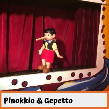 Poppentheater Ronzebons - Pinokkio & Gepetto boeken of inhuren?