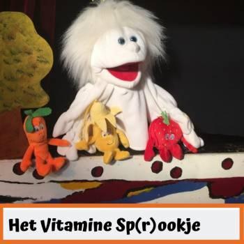Poppentheater Ronzebons - Het Vitamine Sp(r)ookje Boeken of Inhuren?
