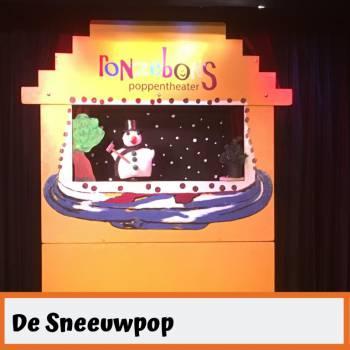 Poppentheater Ronzebons - De Sneeuwpop Boeken of Inhuren?