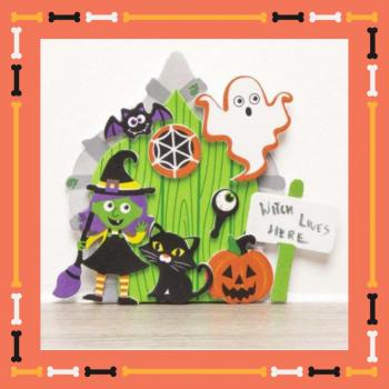 Kids Workshop - Halloween Heksen Deuren Maken Boeken of Inhuren?