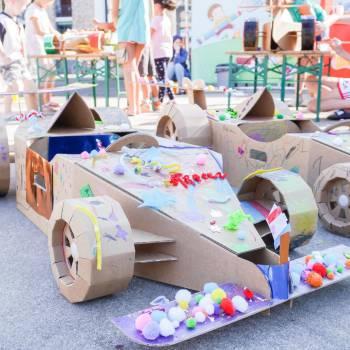 Kids Workshop - Formule 1 Raceauto's Maken Boeken of Inhuren?