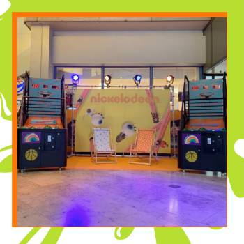 Nickelodeon Basket Games Boeken of Inhuren?