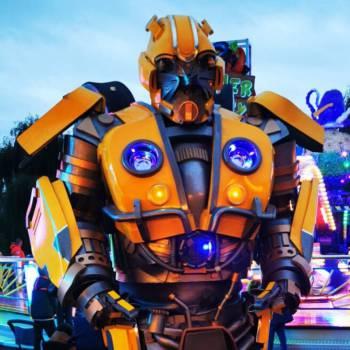 Transformer Bumblebee Boeken of Inhuren?