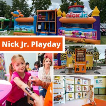 Nick Jr. Playday Boeken of Inhuren?