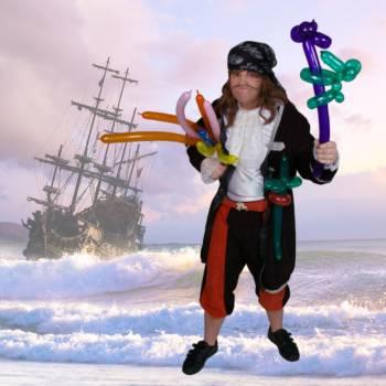 Ballonnen Piraat Boeken of Inhuren?