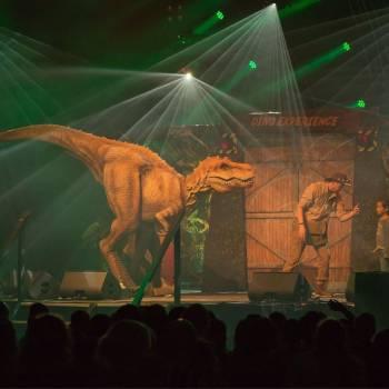 Dino experience liveshow on tour Boeken of Inhuren op jouw evenement?