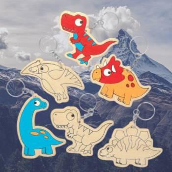 Kids Workshop Dino Sleutelhangers Maken Boeken of Huren voor jouw evenement