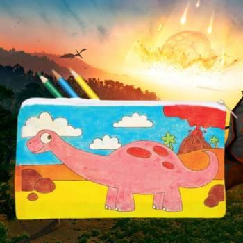 Kids Workshop - Dino Etuis Maken op jouw Dino event