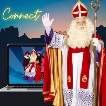 Sinterklaas gaat online Inhuren of Boeken?