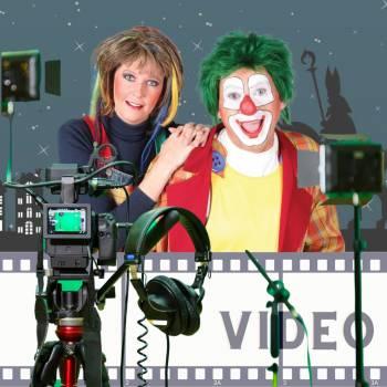 Videoboodschap van Clown Jopie & Tante Angelique Boeken of Inhuren?