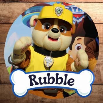 Meet & Greet Rubble Paw Patrol Boeken of Inhuren?