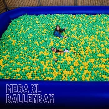 Mega XL Ballenbak Boeken of Inhuren?