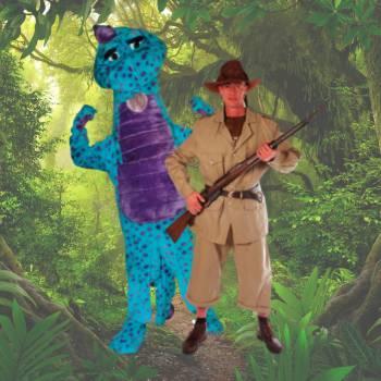 Meet & Greet De Dino en de Oppasser Boeken of Inhuren?