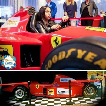Formule 1 Full Scale Simulator huren of inhuren