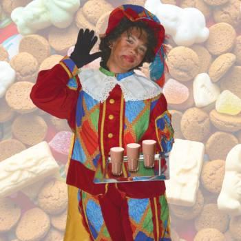 Warme chocolademelk traktatie met zwarte pieten huren