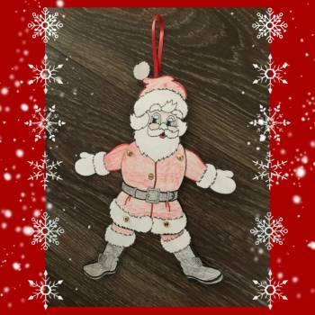 Kids Workshop - Kerstmannen Trekpoppen maken boeken of huren?