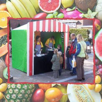 Kids Fruit Terras Boeken of Inhuren?
