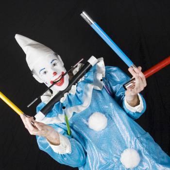 Clown Zassie Kindershow inhuren of boeken
