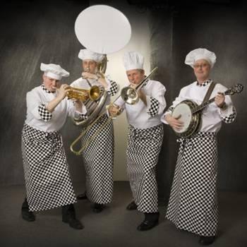 Swinging Dixieband als Koks Boeken of Inhuren?