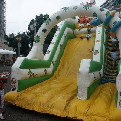 Tropical Kids Slide - Glijbaan inhuren of boeken? | JB Productions
