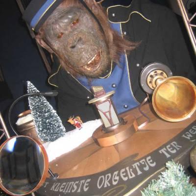 Het kleinste orgeltje ter wereld (Kerst Act)
