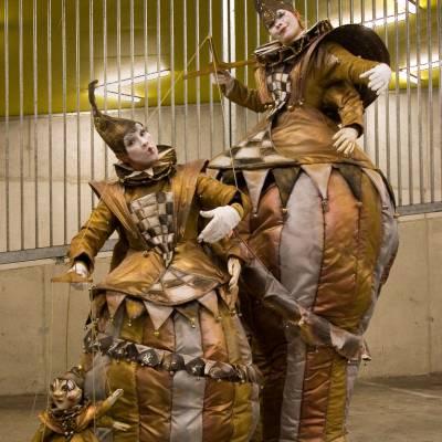 De Nar en Harlekijn - Straattheater