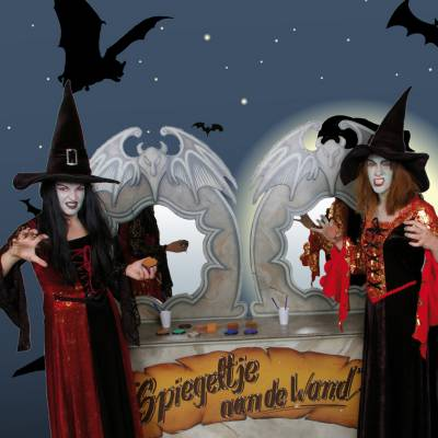 Schminkstand - Sprookjes en Halloween
