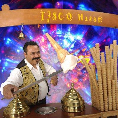 Ijsco Hasan boeken of huren? | JB Productions
