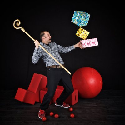 Marco Bonisimo - Sinterklaasshow boeken | SintenKerst