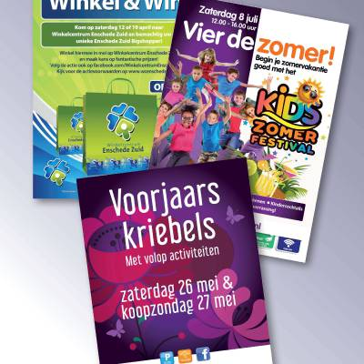 Poster service voor winkelcentra | JB Productions