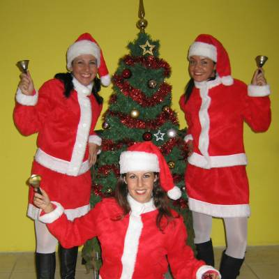 Swinging Christmasgirls - Showdansgroep