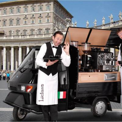 Caffe Italiano inhuren of boeken? | JB Productions