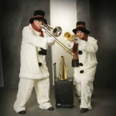 Dixie Duo Swing 'n Roll - Sneeuwpoppen inhuren of boeken | SintenKerst