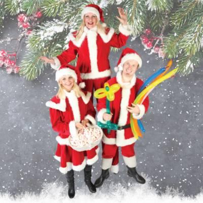Het Te Gekke Kerst Team - 3 personen inhuren of boeken | JB Productions