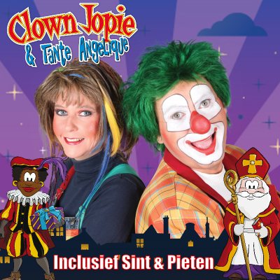 Clown Jopie & Tante Angelique Sinterklaasshow boeken of huren? | JB Productions