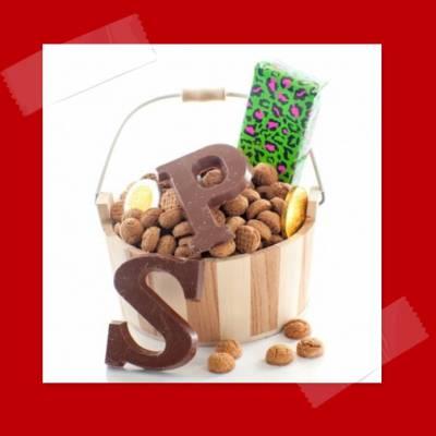 Mini chocolade letter versier terras huren of boeken | JB Productions