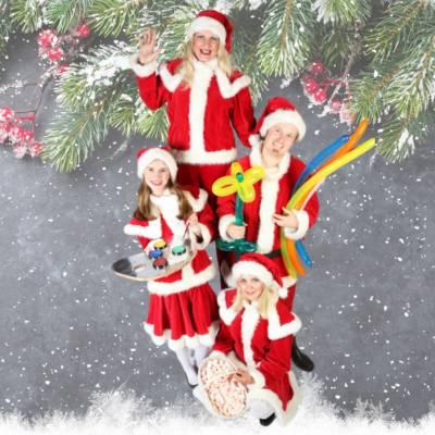 Het Te Gekke Kerst Team - 4 personen