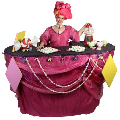 Miss Mable Table - Snoepjes inhuren of boeken? | JB Productions