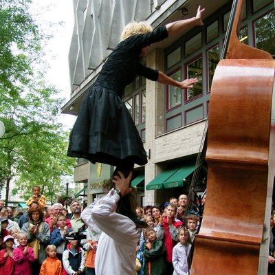 Cello act - Straattheater