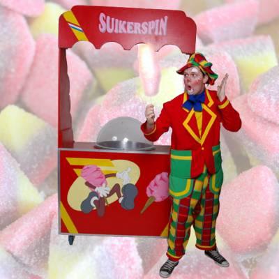 Suikerspin huren of boeken? | JB Productions