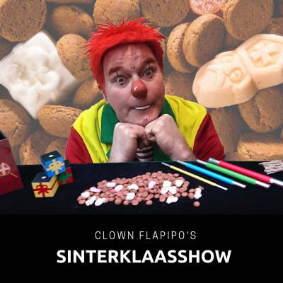 Clown Flapipo Sinterklaasshow boeken of inhuren? | JB Productions