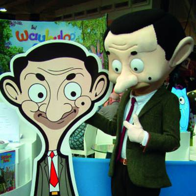 Meet & Greet Mr. Bean Character