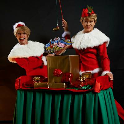 Kerst acts in een speciaal Kerstpakket
