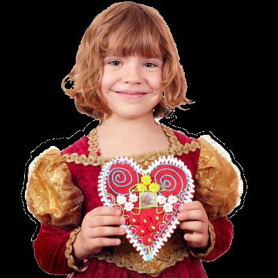Koekhart voor Valentijnsdag versieren inhuren of boeken | Artiestenbureau JB Productions