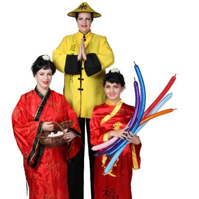 Het Te Gekke Chinese Team - 3 personen