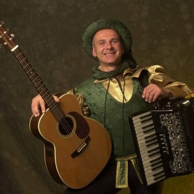 Middeleeuwse Troubadour