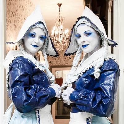 Levend Standbeeld - De Hollandse Dames boeken of huren? | JB Productions