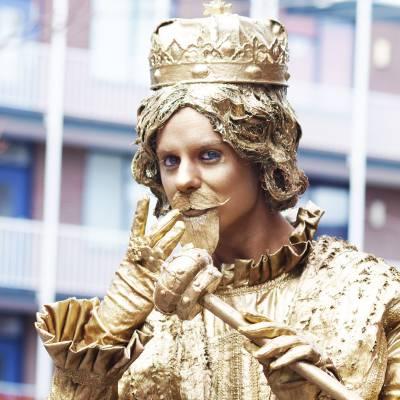 Levend Standbeeld - Koning Midas boeken of huren? | JB Productions